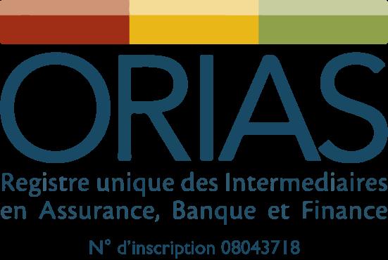 Le logo de notre partenaire ORIAS.