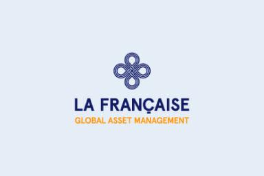 Le logo de notre partenaire La Française Asset Management.
