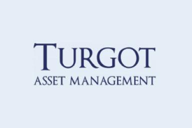 Le logo de notre partenaire Turgot Asset Management.