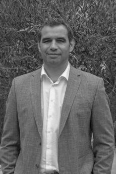 La photo de Romain MURAILLE co-gérant de la société.